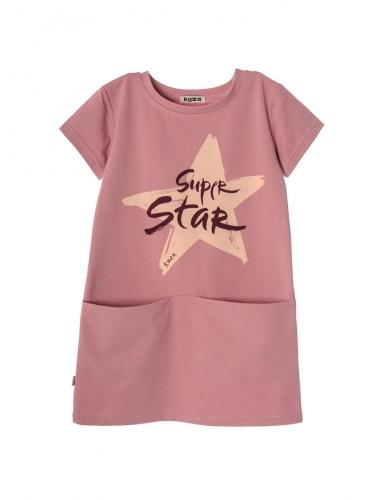 Платье 931А2 розовый