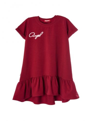 Платье 892А5 бордовый