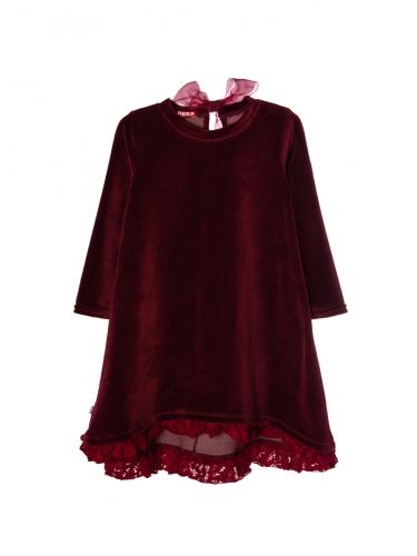 Платье 959 бордовый