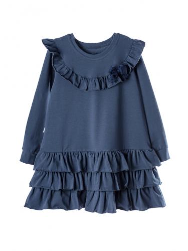 Платье 937А2 синий