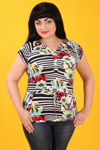 СИМАН 3849 Блуза+пояс