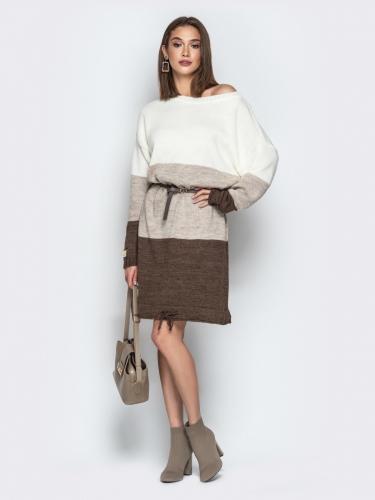 Платье вязаное 7237/015