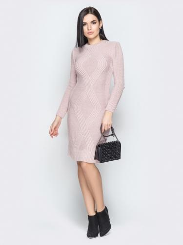 Платье вязаное 25203