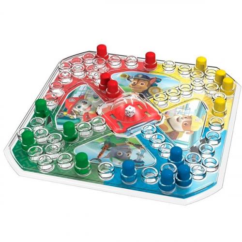 Игровой набор Spin Master 2-в-1 - игра с кубиком и фишками + карточки Memory Щенячий Патруль
