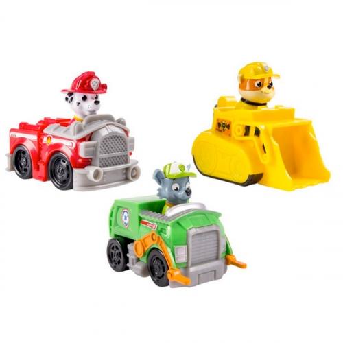 Игрушка Paw Patrol Набор из 3 маленьких машинок