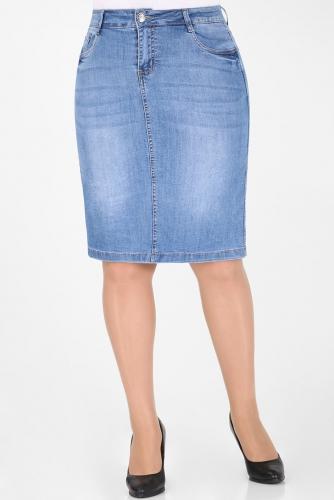 М-12 335 Юбка джинсовая