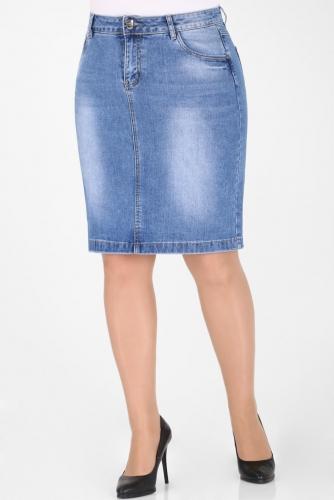 М-12 6046 Юбка джинсовая