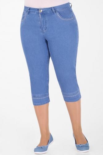 М-12 J009 Капри джинсовые