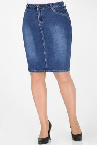 М-12 628 Юбка джинсовая