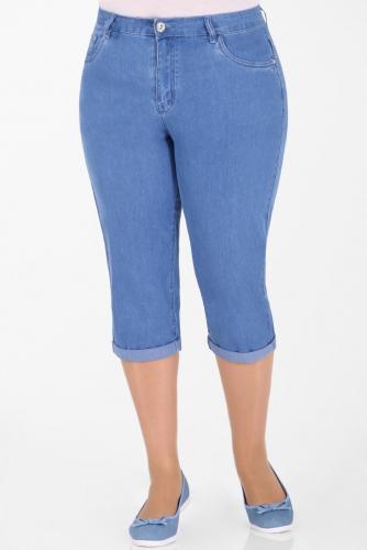 М-12J001  Капри джинсовые