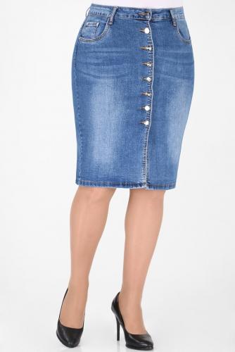 М-12 564 Юбка джинсовая