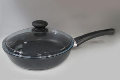 Сковорода а/пр  28 стек/кр литая  7728