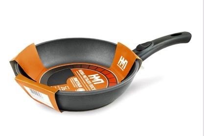 Сковорода а/пр литая 24 съем/руч 7024к