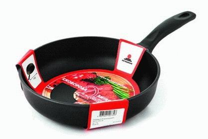Сковорода а/пр 24  литая  7324