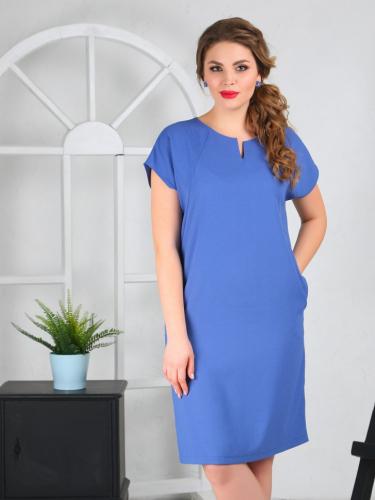Платье 098/2, ночная синь