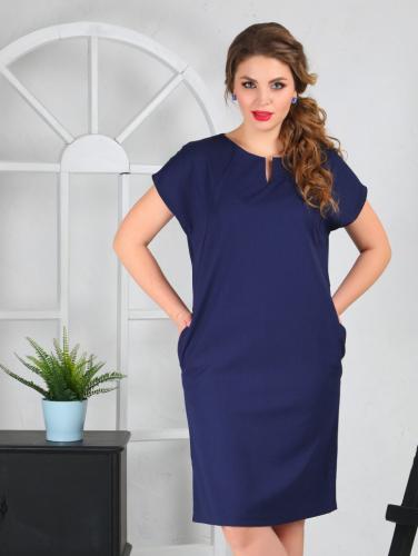Платье 098/1, синий