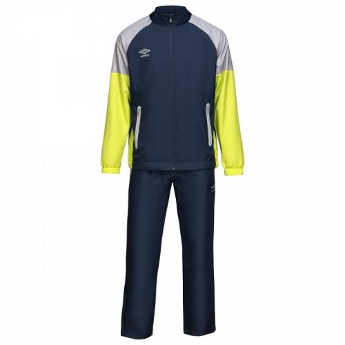 TYRO WOVEN SUIT, костюм спортивный текстильный, (09LM) т.син/лайм/меланж