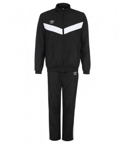 UNITY LINED SUIT, костюм спорт. муж.(брюки прямые), (661) чер/чер/бел