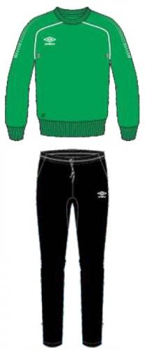 PRODIGY TEAM POLY SUIT костюм трен. ПЭ, (461) зел/чер/бел