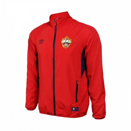 CSKA EDGE WOVEN JACKET, куртка спортивная легкая, (029) красн/т.син