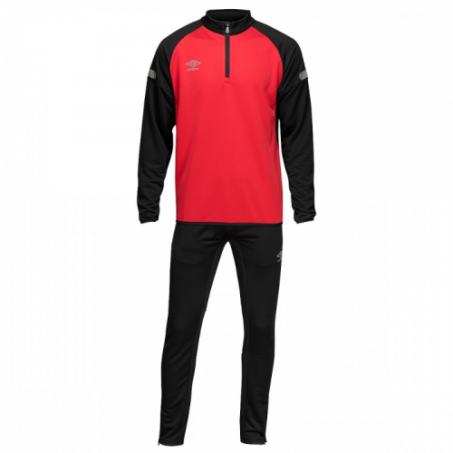 TYRO POLY SUIT, костюм тренировочный трикотажный, (062) чер/красн