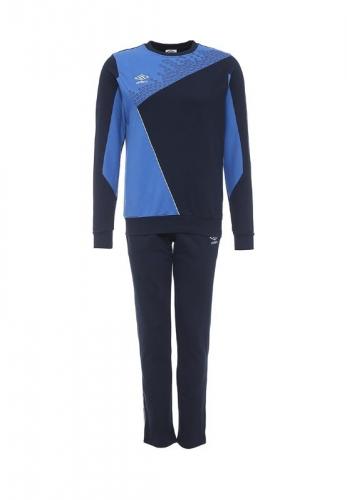ARMADA COTTON SUIT костюм трен.ХБ, (791) син/т.син/бел