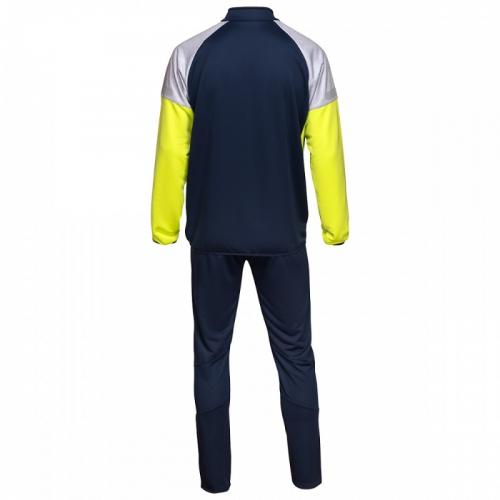 TYRO POLY SUIT, костюм тренировочный трикотажный, (09LM) т.син/лайм/меланж