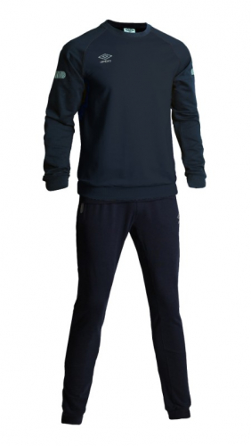 TYRO COTTON SUIT, костюм спортивный трикотажный, (09S) т.син/сереб