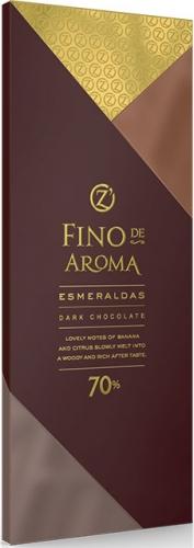 ОС832, Fino de Aroma горький Esmeraldas 70%, 90 г.