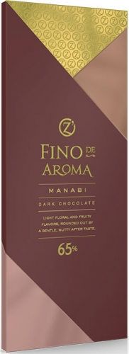 ОС833, Fino de Aroma горький Manabi 65%, 90 г.