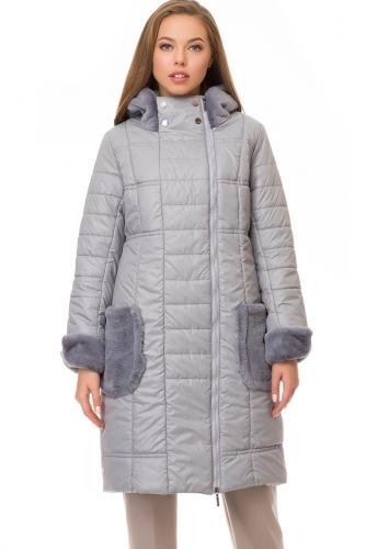 Утепленное пальто #70181