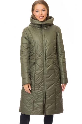 Утепленное пальто #67554