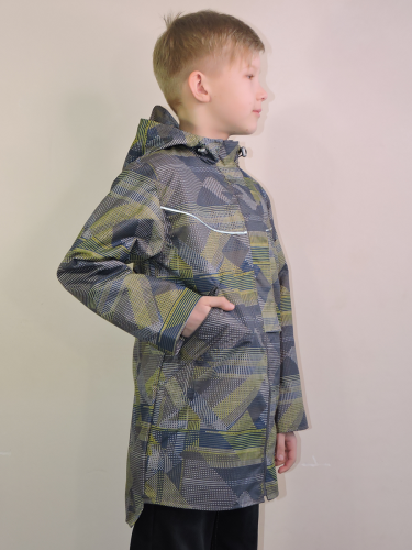 Куртка для мальчиков на флисе арт. 4789 (104-158)