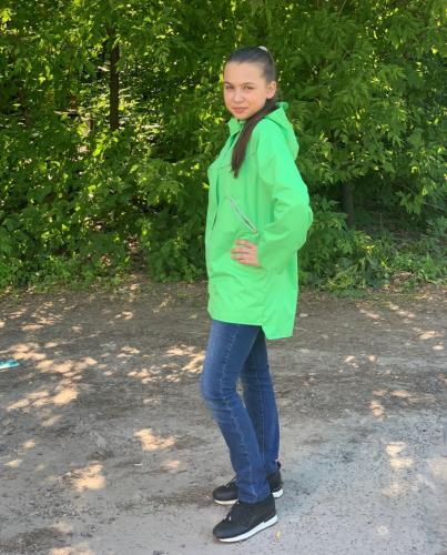 Куртка для девочек на флисе арт. 4787 (104-158)