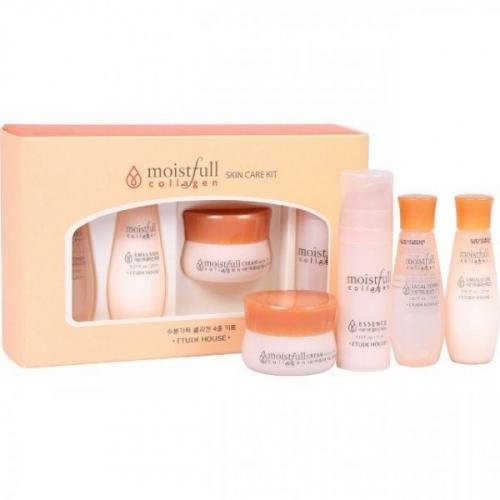 Антивозрастной Увлажняющий Набор Moistfull Collagen Skin Care Kit Etude House