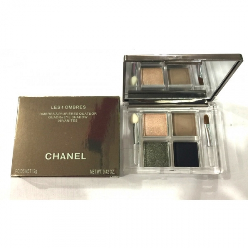 Тени Chanel Les 4 Ombres Quadra Eye Shadow 08 Vanites 12g №3(копия)