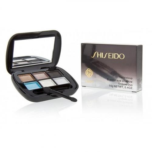 Тени Shiseido The Makeup 6 Color Eye Shadow 14 g №1(копия)