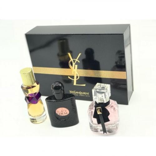 Подарочный набор парфюмерии YSL 3х30ml женский(копия)