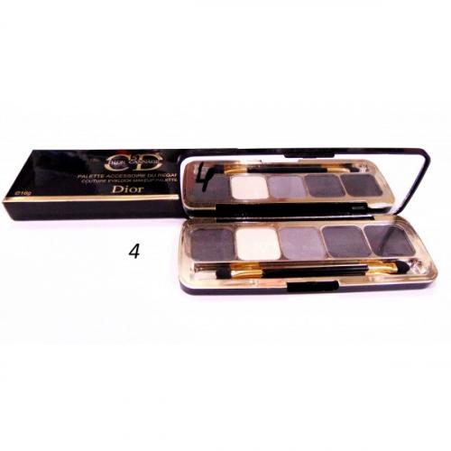 Тени матовые CD 5 Dior Cannage Palette Accessoire Du Regard 16g №4(копия)