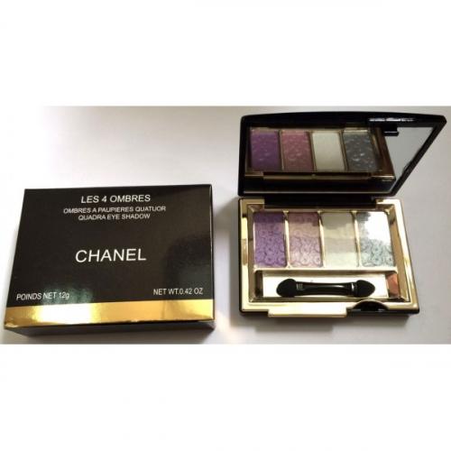 Тени Chanel Les 4 Ombres Quadra Eye Shadow 12g (длинные) №2(копия)