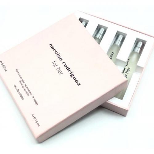 Подарочный набор Narciso Rodriguez For Her 4 х 15 ml(копия)
