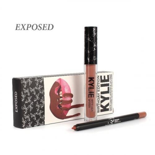Набор Kylie Birthday Edition 2in1 Exposed (помада и карандаш)(копия)