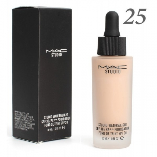 Тональная основа MAC Studio Waterweight 30 spf 30ml №25(копия)