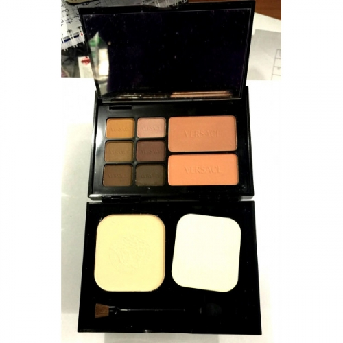 Набор Versace Travel Makeup Palette 6 colour eyeshadow 2 colour blusher 1 colour powder 18g 12g 12g №6(копия)