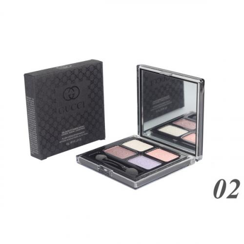 Тени Gucci Velours D'Ombre Mono 4-х цветные 6g №2(копия)