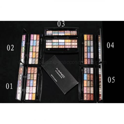 тени mac eyeshadow 15 colors palette №1(копия)