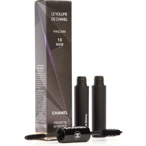 Тушь двойная Chanel Le Volume de Chanel Mascara 10 noir 12g (пушистая и силикон)(копия)