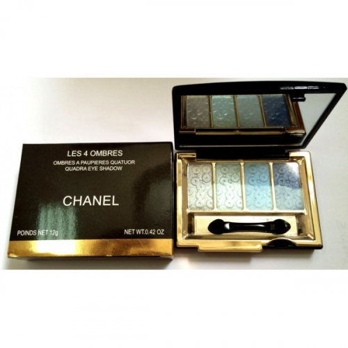 Тени Chanel Les 4 Ombres Quadra Eye Shadow 12g (длинные) №1(копия)