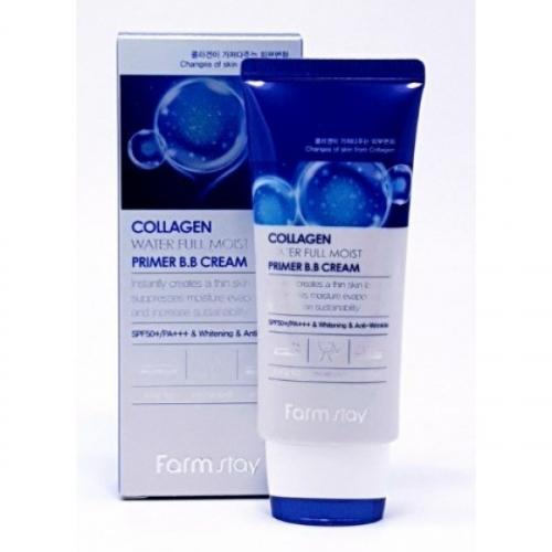 BB крем увлажняющий с коллагеном Farm stay Collagen Water Full Moist Primer B.B cream 50ml