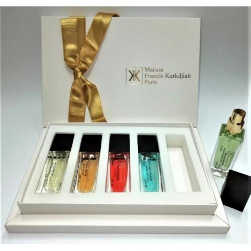 Подарочный парфюмерный набор Maison Francis Kurkdjian 5Х15ml(копия)